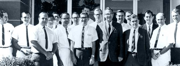 1967 Residents at Bascom Palmer Eye Institute.